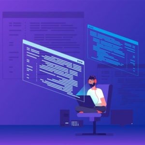 programmer-coding-young-man-freelancer-working-program-code-with-laptop-geek-coding-software-vector-concept_53562-9214